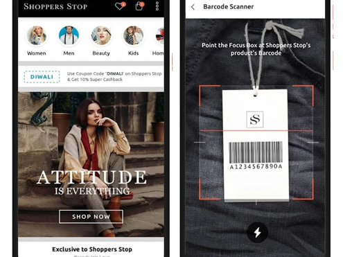 Shoppers Stop - Mobile App.fw
